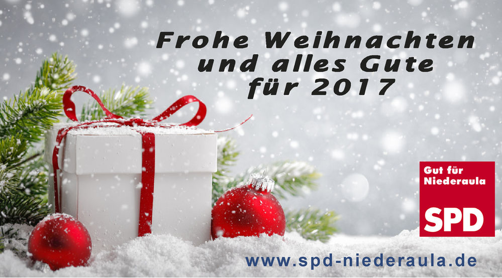 frohe weihnachten und alles gute f r 2017 spd niederaula. Black Bedroom Furniture Sets. Home Design Ideas